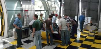 Abbau und Übernahme des Airport-Forums
